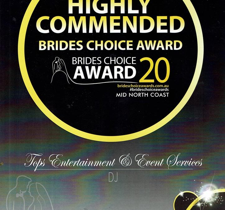 Bridal choice awards 2020